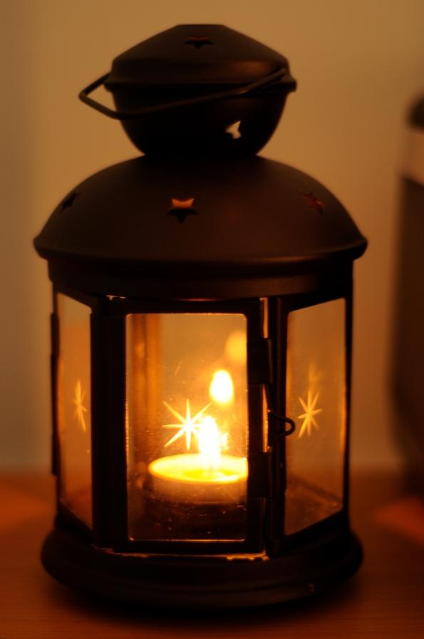 Sented Cndle Light Lamp Shade